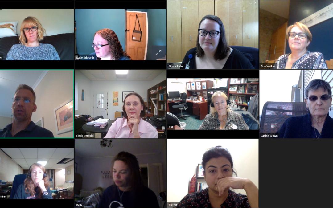 Virtual Board Meeting This Week